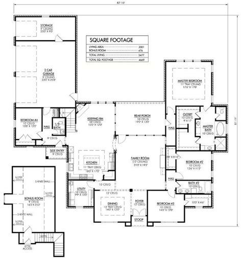 Love floor plan 4600 sq ft needs larger 4th br and
