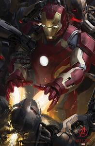 AVENGERS: AGE OF ULTRON Concept Art Posters Hit Comic Con ...