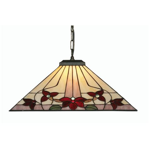 oaks lighting camillo stained glass pendant