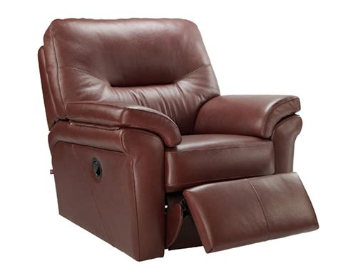 G Plan Washington Leather Manual Recliner Chair