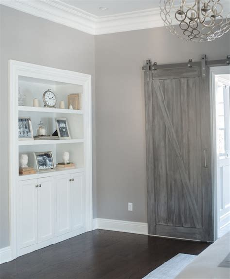Gray Barn by Modern And Rustic Interior Sliding Barn Door Designs