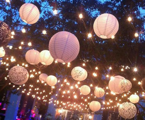 light up your reception with lanterns bliss weddings boston