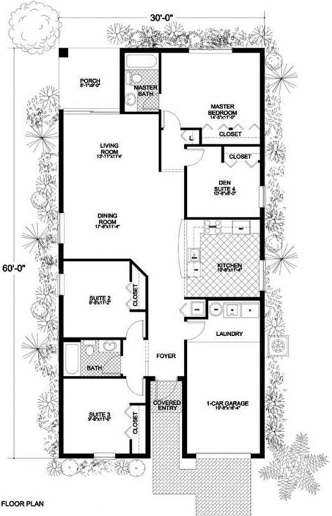 one floor plans small 1 house plans