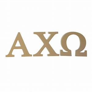 alpha chi omega 75quot unfinished wood letter set ebay With axo wooden letters