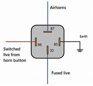 Air Horn Button Wiring Diagram