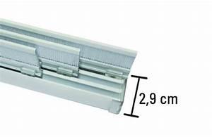 Flächenvorhangschiene 3 Läufig : fl chenvorhangschiene komfort 3 l ufig komplett set aluminium l nge 170 cm ~ Orissabook.com Haus und Dekorationen