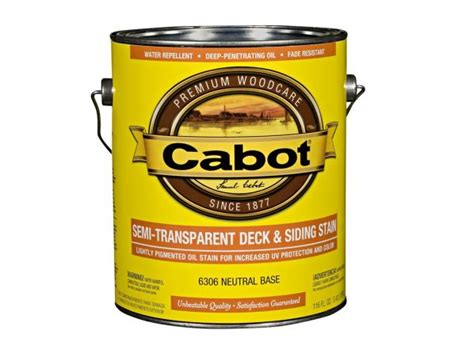 cabot semi transparent deck siding wood stain consumer