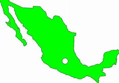 Mexico Map Clipart Transparent Messico Cartina Muta