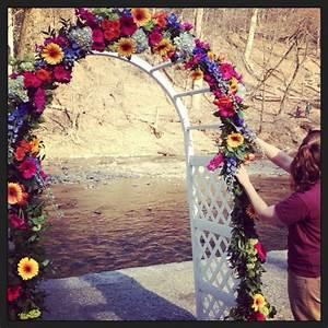 32 best images about wedding on pinterest designer fans for Decorating a trellis for a wedding
