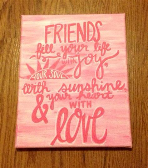 for best friend quote quotes on canvas with them quotesgram Canvas
