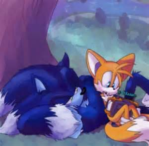 Werehog Sonic and Tails