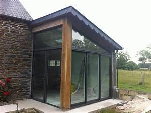 realisation de votre menuiserie solabaie belles baies vitre With porte de garage coulissante avec porte pvc couleur bois