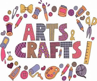 Crafts Arts Vector Clip Illustrations Lettering Patchwork
