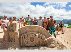 Hawaii Sand Festival and Sand CastleSculpture Contest