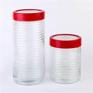 Pot En Verre Pas Cher : 4 pcs verre pot de stockage pas cher vide bocaux en verre avec couvercle bouteilles bocaux ~ Melissatoandfro.com Idées de Décoration