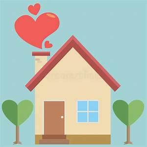 Casa Amore De : casa del amor ilustraci n del vector ilustraci n de casero 50689409 ~ Eleganceandgraceweddings.com Haus und Dekorationen