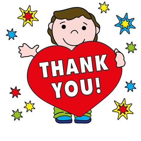 Free Thank You Clipart Thank You Black And White Clip Images