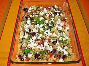 Salat Mit Zucchini : couscous salat mit zucchini aubergine feta von dodith ~ Lizthompson.info Haus und Dekorationen