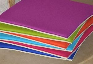 Beistelltisch 40 X 40 : stuhlkissen aus filz 40 x 40 cm oder 37 x 37 cm sitzauflagen polster sitzkissen stuhlauflagen ~ Bigdaddyawards.com Haus und Dekorationen