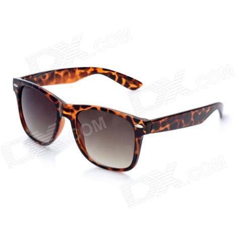 tortoise color oreka classic retro uv400 protection sunglasses tortoise
