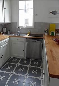 Graue Fliesen Küche : graue zementfliesen in der k che ~ Sanjose-hotels-ca.com Haus und Dekorationen