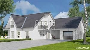 Einfamilienhaus Mit Garage : haus als einfamilienhaus mit garage und garten ~ Lizthompson.info Haus und Dekorationen