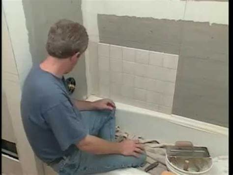 how to install ceramic tile bathroom walls and shower
