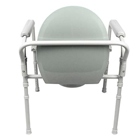 commode by vive bedside commode for seniors handicap