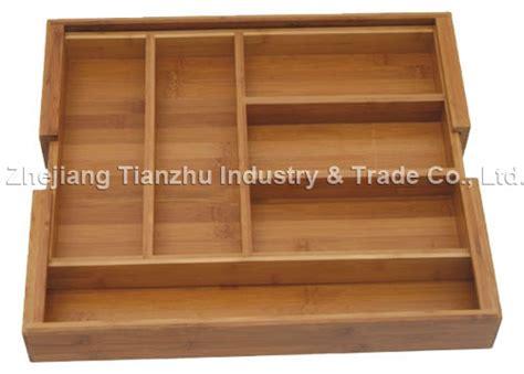 organisateur de tiroir cuisine tiroir extensible d 39 organisateur de couverts tzb9202