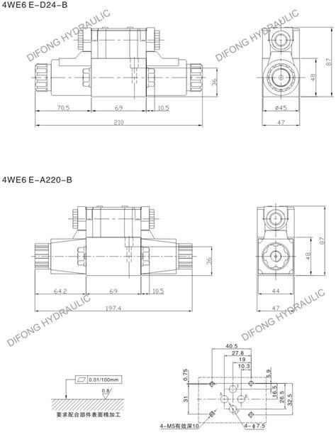 4we6 24v Hydraulic Directional Control Valve - Buy