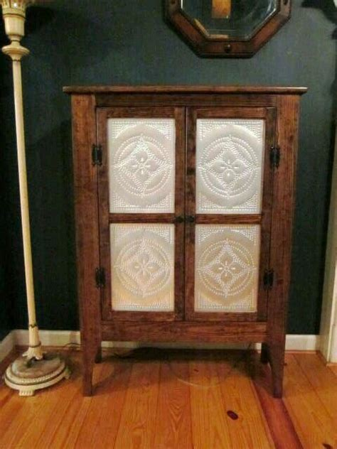 punched tin panels  cabinets images