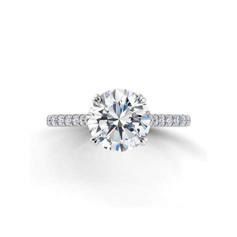 danhov classico engagement ring with diamond accents desires by mikolay