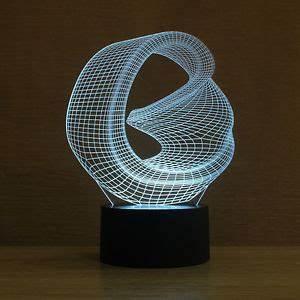 Led Nachtlicht Kinderzimmer : 3d nachtlicht led tischlampe 2d illusion welle design 7 farben kinderzimmer usb ebay ~ Markanthonyermac.com Haus und Dekorationen