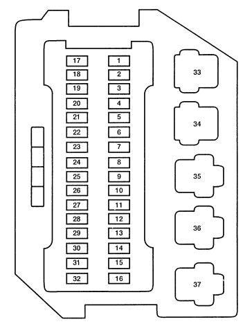 93 F350 Underhood Fuse Box Diagram by 79 Corvette Fuse Box Diagram 1980 C3 Corvette Fuse Box