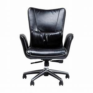 Fauteuil De Bureau Design : fauteuil de bureau boss noir kare design ~ Teatrodelosmanantiales.com Idées de Décoration
