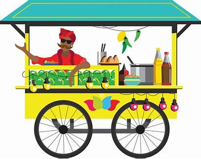 Street Clipart Corner Stand Chaat Clip Indian
