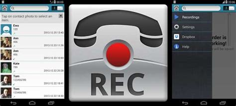 top 5 call recorder apps for android for free