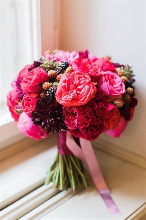 bouquet week hot pink magenta flirty fleurs