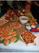 Great Bridal Shower Food Bridal Shower Ideas Pinterest Setting Up A Stylish Buffet Celebrations At Home Pics Photos Easy Finger Foods For Bridal Shower Ideas Wedding Shower Finger Food Ideas
