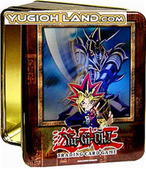 yu gi oh buster blader 2003 empty collectors tin