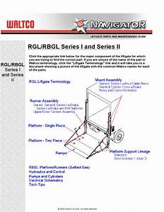 Waltco Rgl Series Liftgate By The Liftgate Parts Co