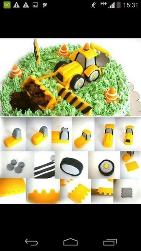 25 melhores ideias sobre bolo de escavadeira no bolos de constru 231 227 o festas de