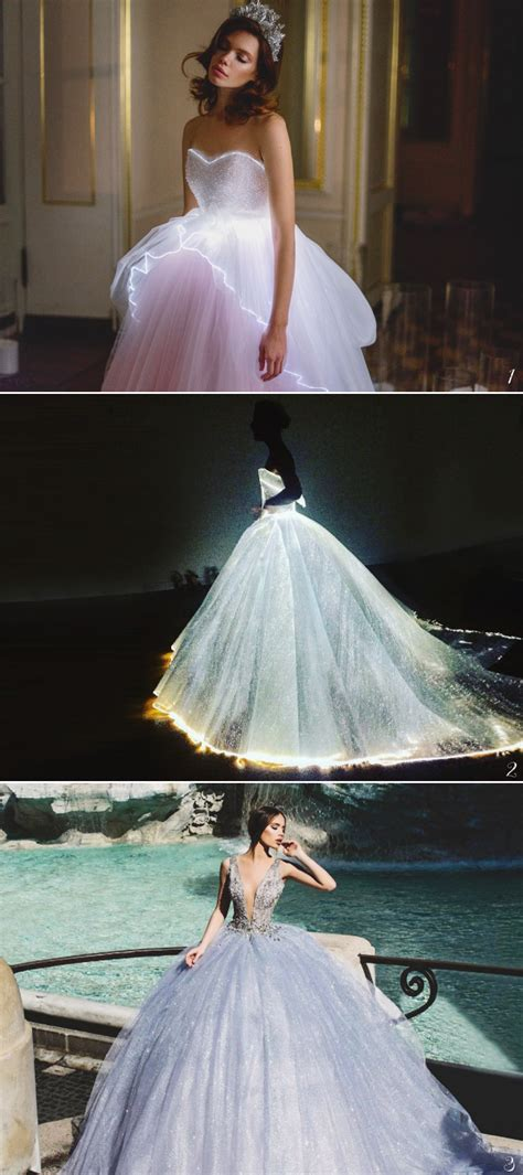 magical wedding gowns fairy tale fans  adore