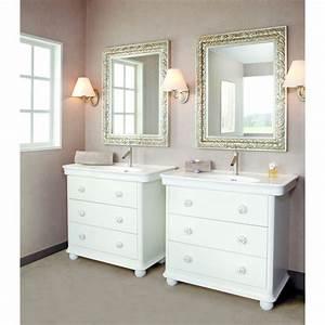 Commode Pour Salle De Bain : meuble de salle de bain de type commode detremmerie ~ Teatrodelosmanantiales.com Idées de Décoration