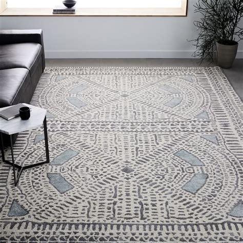rugs west elm dynasty rug dusty blue west elm