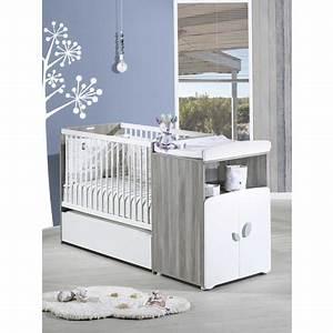 lit bebe combine 60 x120 cm evolutif en 90x190 cm calinou With déco chambre bébé pas cher avec fleuriste livraison Ï domicile