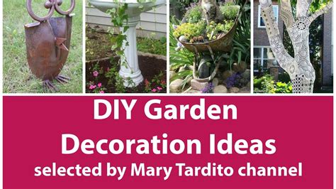 Garden Decoration Ideas by Diy Garden Decoration Ideas