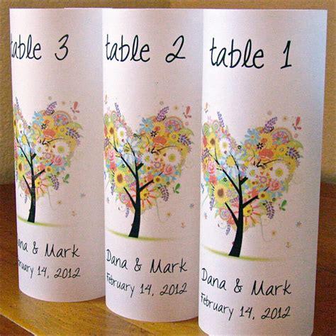 Unique Wedding Table Number Ideas Destination Wedding