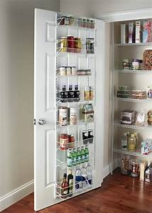 Wall Rack Closet Organizer Pantry Adjustable Floating ...