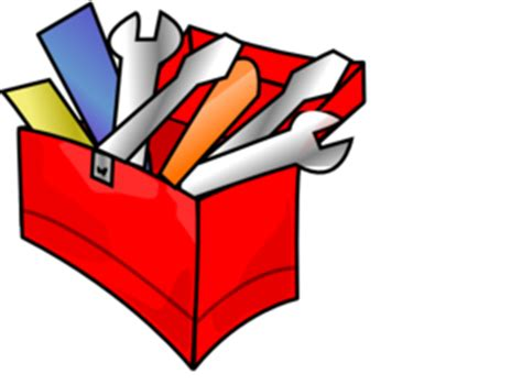 Red Toolbox Clip Art At Clkercom  Vector Clip Art Online, Royalty Free & Public Domain